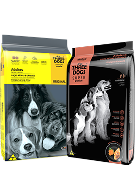 Three Dogs | Super Premium e Premium Especial