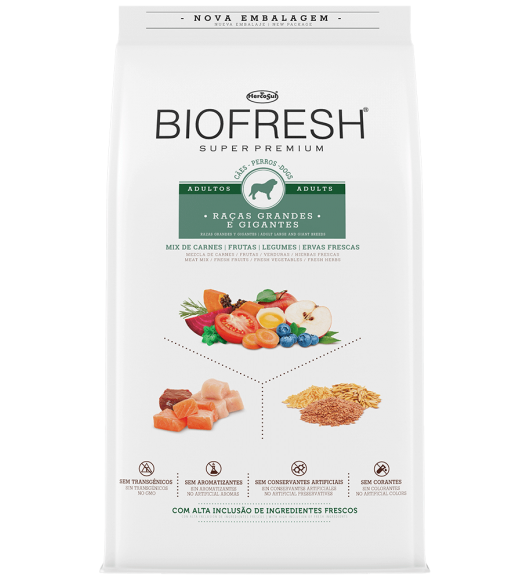 BIOFRESH FOR DOGS - ADULTS  LARGE AND GIANT BREEDS