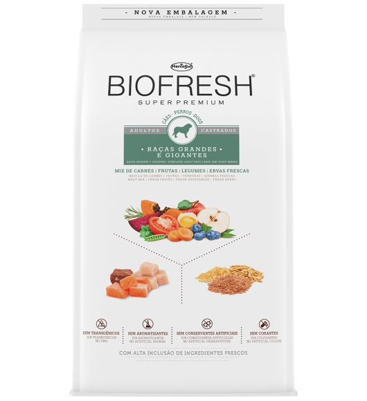 BIOFRESH FOR DOGS - STERILISED ADULT DOGS LARGE AND GIANT BREEDS