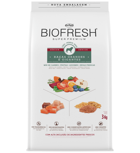 BIOFRESH FOR DOGS - SENIOR LARGE AND GIANT BREEDS