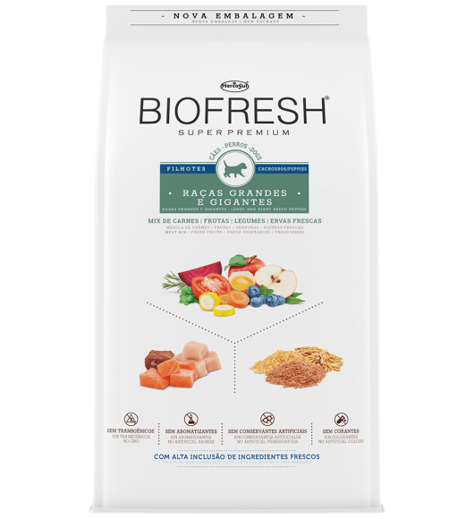 BIOFRESH FOR DOGS - LARGE AND GIANT BREED PUPPIES