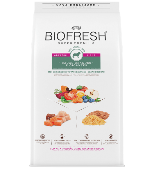 BIOFRESH FOR DOGS - ADULTS LIGHT LARGE AND GIANT BREEDS