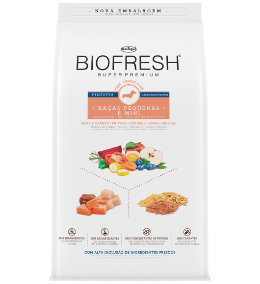 BIOFRESH FOR DOGS - SMALL AND TOY BREED PUPPIES
