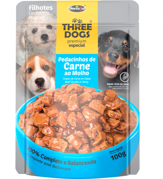 SACHET THREE DOGS ORIGINAL - CACHORROS