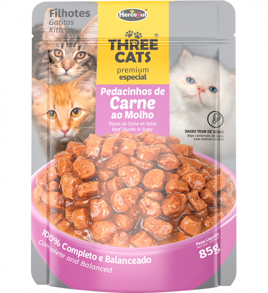 SACHET THREE CATS - GATITOS