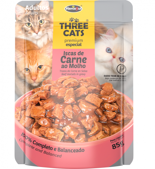 SACHET THREE CATS - ADULTOS